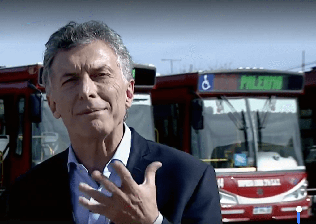 Argentina 'is far' from a crisis like 2001, claims Mauricio Macri