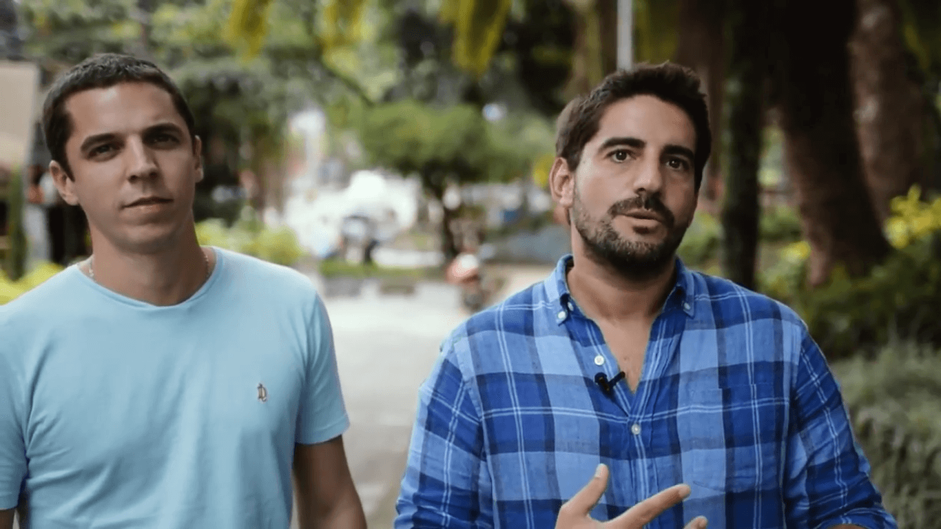 VIDEO: Argentina Reports interviews education startup Wisboo's co-founders