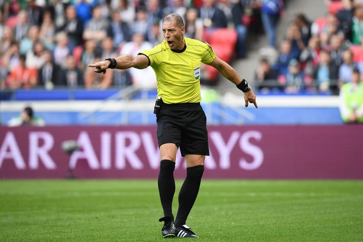 Argentina's Néstor Pitana is chosen to referee the inaugural match of the World Cup