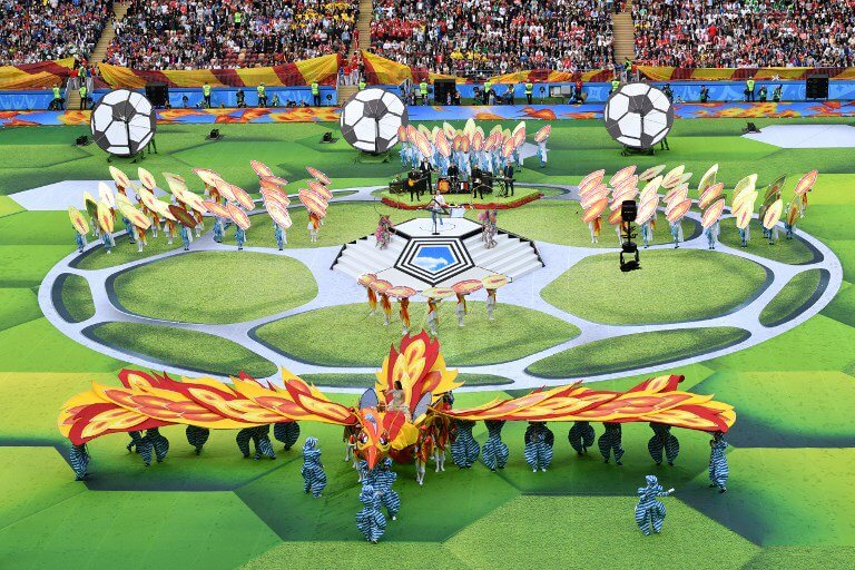 Missed the opening ceremony? What happened to kick off the World Cup 2018