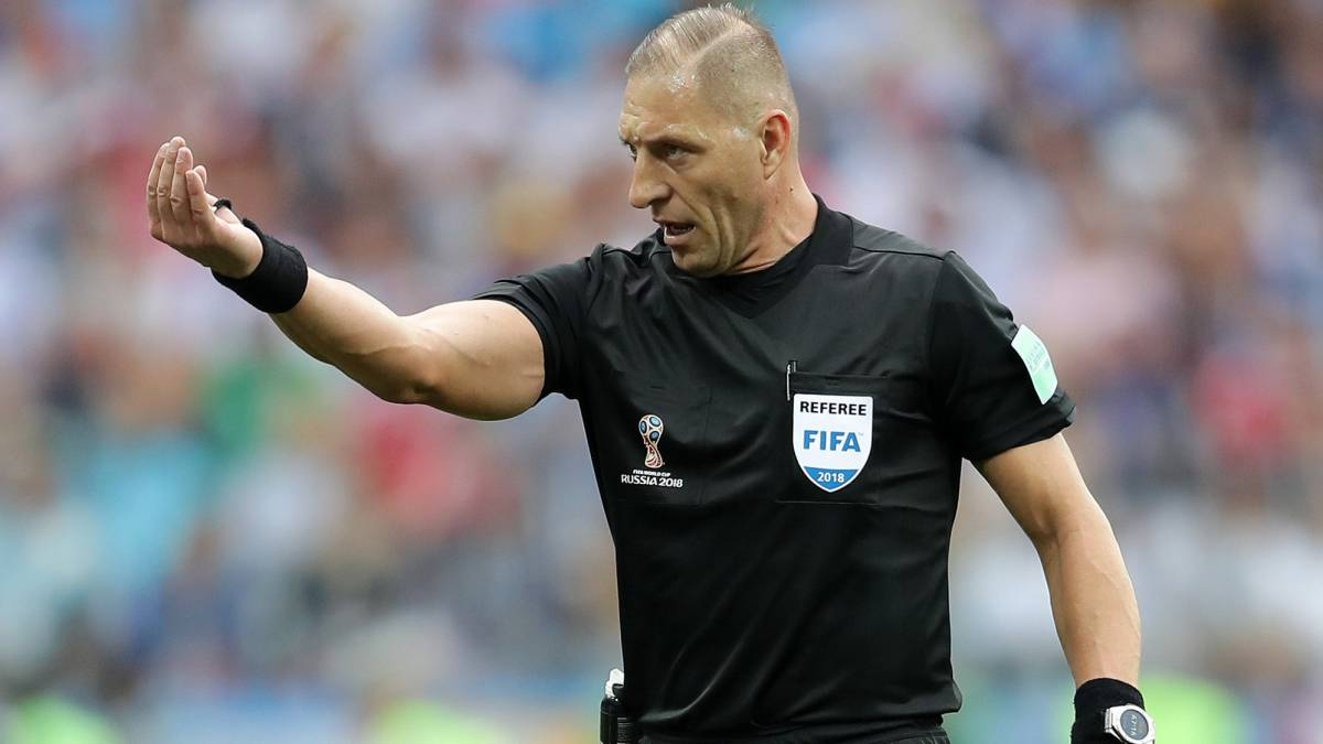 Argentine Nestor Pitana is named the referee at the World Cup final