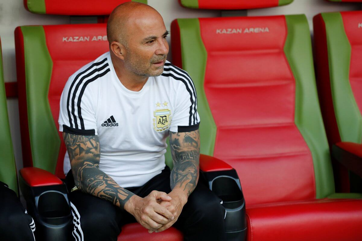 Shock after Sampaoli is reportedly being asked to resign after World Cup defeat
