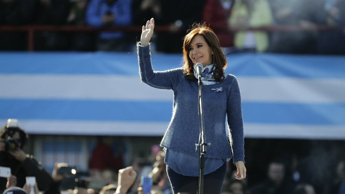 Cristina Kirchner refused to answer questions in meeting with Judge Bonadio