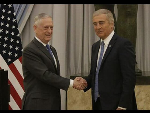 Argentina and the US to develop closer military ties after Mattis' visit