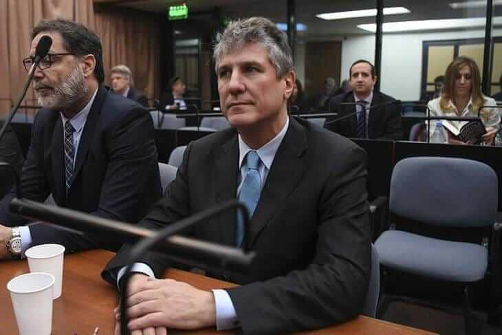 Ex-VP Amado Boudou is sentenced to five years and 10 months in prison for corruption