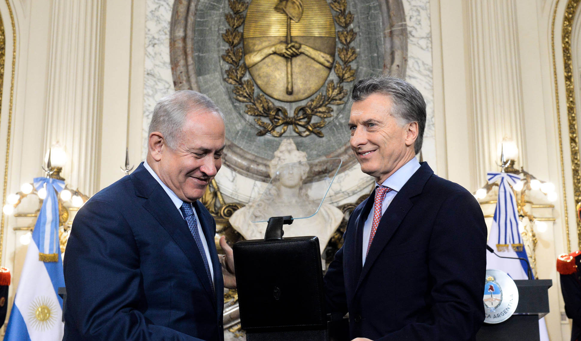 Argentina blames Palestine for violence with Israel on the Gaza strip