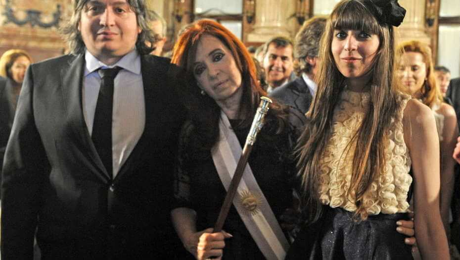 Cristina Kirchner and her two children will go to trial in Los Sauces case