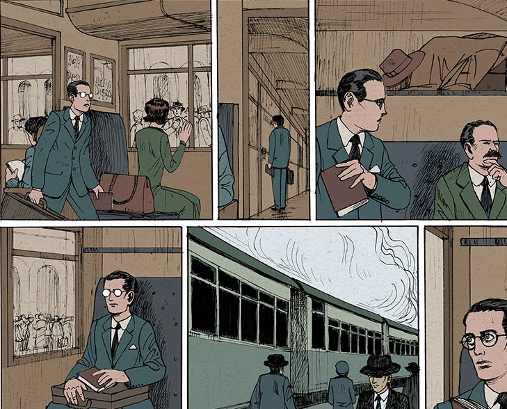 The Infinite Labyrinth: A new graphic novel on the life of Argentina's best known writer